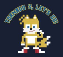 8Bit Tails One Piece - Long Sleeve