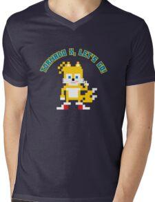 8Bit Tails Mens V-Neck T-Shirt