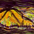 yellow tinged peak... by banrai