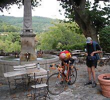 Tour de France pit stop!! by Fara