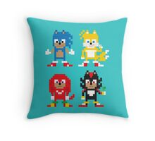 Sonic and Friends Throw Pillow