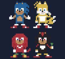 Sonic and Friends Kids Tee