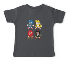 Sonic and Friends Baby Tee