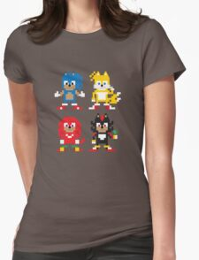 Sonic and Friends Womens Fitted T-Shirt