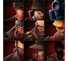 TF2 - Red Team Photographic Print