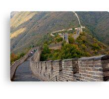 The Great Wall Series - at Mutianyu #7 Canvas Print