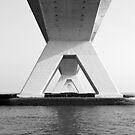 Zeeland Bridge, The Netherlands by VanOostrum