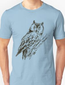 Owl hand drawn T-Shirt