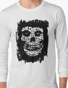 Die, Die Misfits inspired tee #2 Long Sleeve T-Shirt