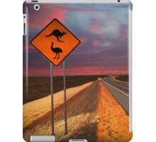 Coat of arms drive, outback Western Australia  iPad Case/Skin