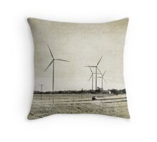 East of Midland Throw Pillow