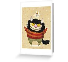Friendship Monster Greeting Card