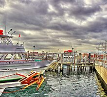 Fishing boats by henuly1