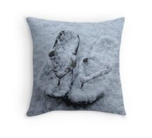 Cold Soles Throw Pillow