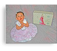 A Girl Can Dream Canvas Print