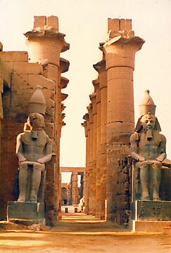 Luxor Temple, Egypt by Alberto  DeJesus