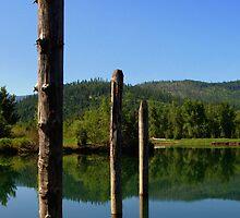 Cataldo Lake by mpalcic