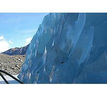 Blue Iceburg Photographic Print