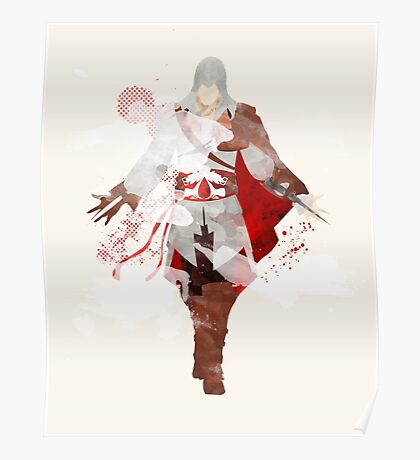 Assassins Creed: Ezio Auditore da Firenze Giclee Art Print Poster