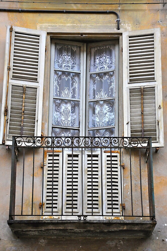 Italian Window, Susa by Dean Bailey