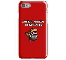Super Mario Hermanos iPhone Case/Skin