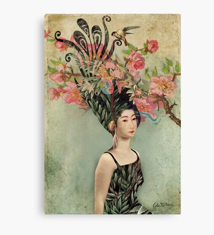 the cherry tree Canvas Print