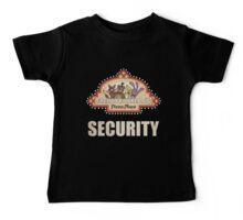 Five Nights at Freddy's - FNAF - Freddy Fazbear's Security Logo Baby Tee