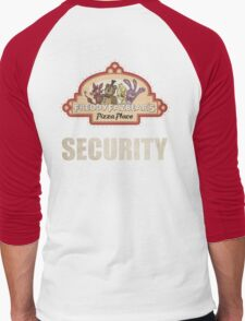 Five Nights at Freddy's - FNAF - Freddy Fazbear's Security Logo Men's Baseball ¾ T-Shirt