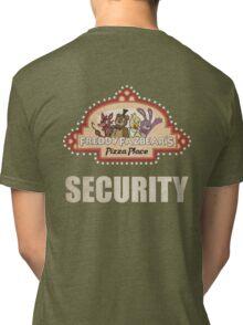 Five Nights at Freddy's - FNAF - Freddy Fazbear's Security Logo Tri-blend T-Shirt