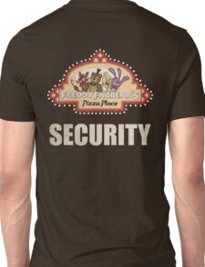 Five Nights at Freddy's - FNAF - Freddy Fazbear's Security Logo Unisex T-Shirt
