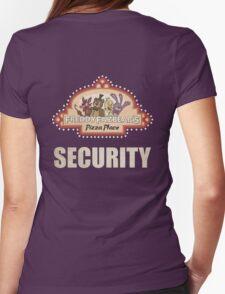 Five Nights at Freddy's - FNAF - Freddy Fazbear's Security Logo Womens Fitted T-Shirt