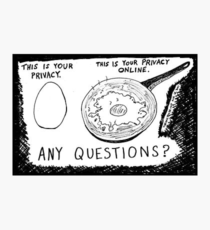 Internet Privacy Photographic Print