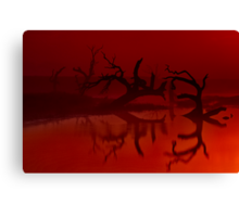 """""""Silhouettes in the Mist"""" Canvas Print"""