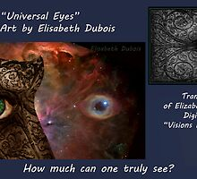 Universal Eyes Card by Elisabeth Dubois