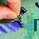 counted cross stitch embroidery by nadine henley