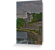 Kilkenny Castle Greeting Card