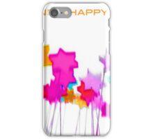 Pop Art Star white Background 2 (English) iPhone Case/Skin