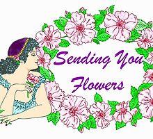 Sending You Flowers by redqueenself