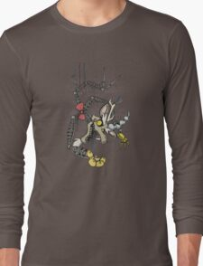 My Little Pony - MLP - FNAF - Discord Animatronic Long Sleeve T-Shirt