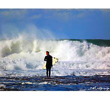 Big surf  Photographic Print