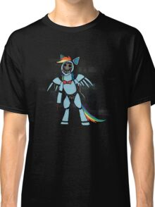My Little Pony - MLP - FNAF - Rainbow Dash Animatronic Classic T-Shirt