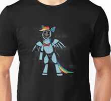 My Little Pony - MLP - FNAF - Rainbow Dash Animatronic Unisex T-Shirt