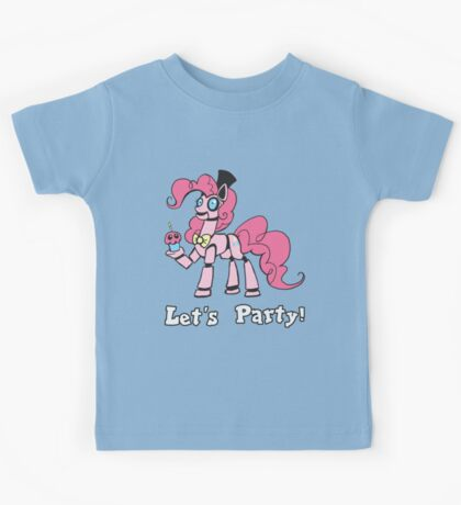 My Little Pony - MLP - FNAF - Pinkie Pie Animatronic Kids Tee