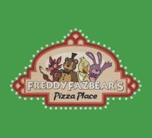 Five Nights at Freddy's - FNAF - Freddy Fazbear's Logo Kids Tee