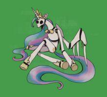 My Little Pony - MLP - FNAF - Princess Celestia Animatronic Kids Tee