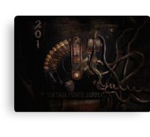 Steampunk - Electrical - Rotary Switch Canvas Print