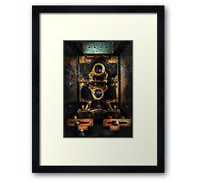 Steampunk - Electrical - The power meter Framed Print