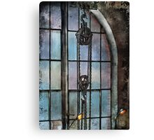Steampunk - Gear - Importance of Industry  Canvas Print