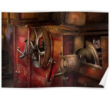 Steampunk - Gear - It used to work Poster