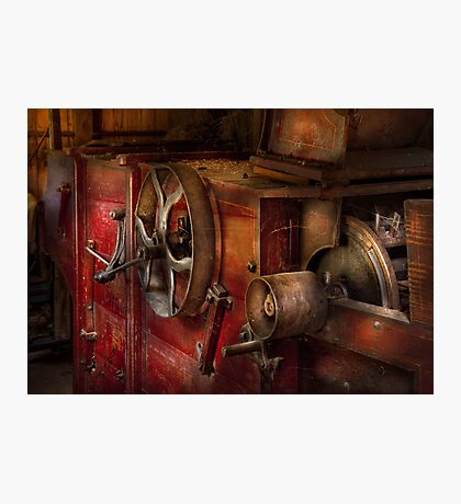 Steampunk - Gear - It used to work Photographic Print